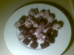Chocolate covered marzipan [D]